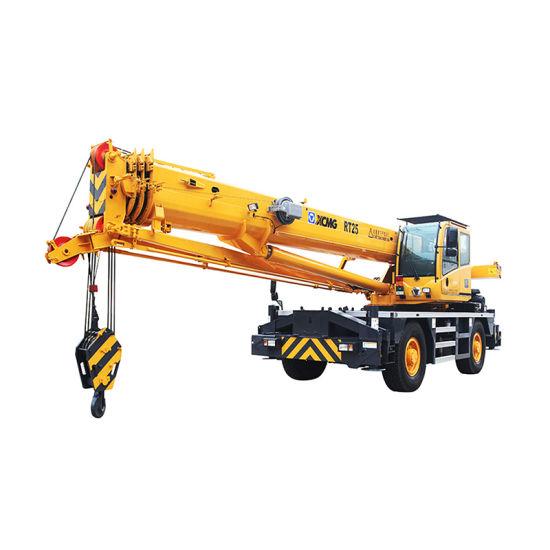 XCMG 50ton New Hydraulic Hot Sale Rough Terrain Crane Rt50A