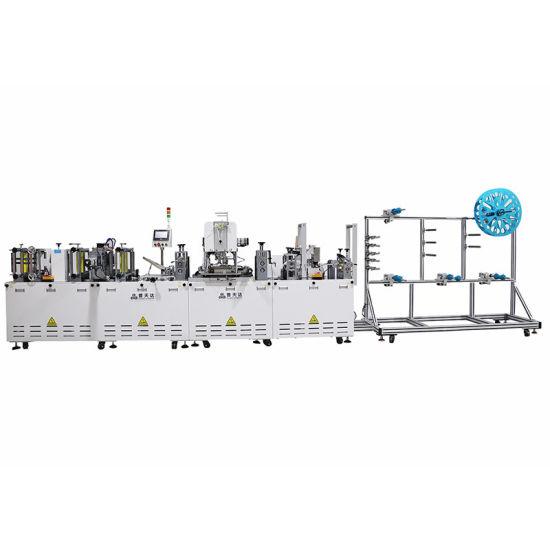 Putianda Nina Manufacture KN95 or N95 Full Automatic Machine 70 to 75 Pieces Per Minute Mask Mascherine Machine
