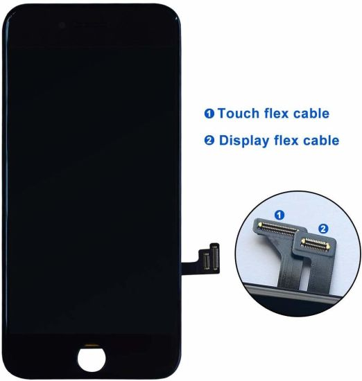 Compatible with iPhone 7 Plus Screen Replacement 5.Inch Black