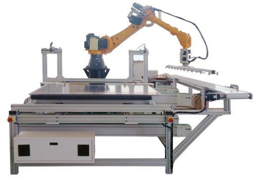 Argus EVA Backsheet Glass Washer Solar Machine