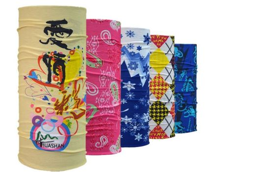 Promotional Seamless Head Scarf Custom Printed UV Bandana (YH-HS704) pictures & photos