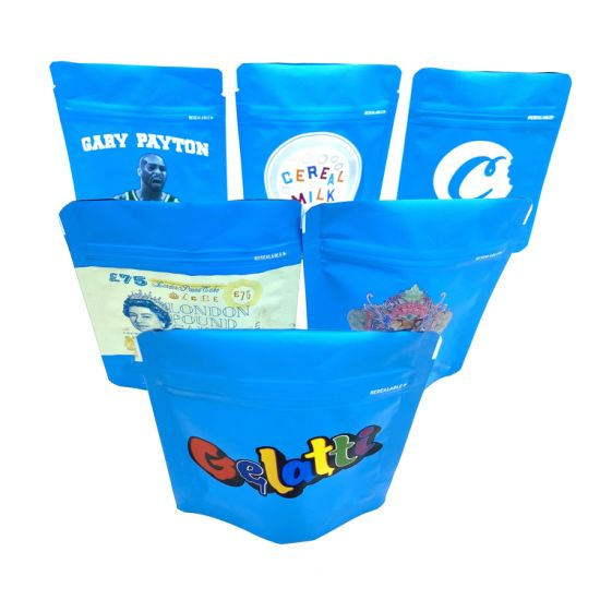 Wholesale Customized Resealable Stand up Food Pouches Packing