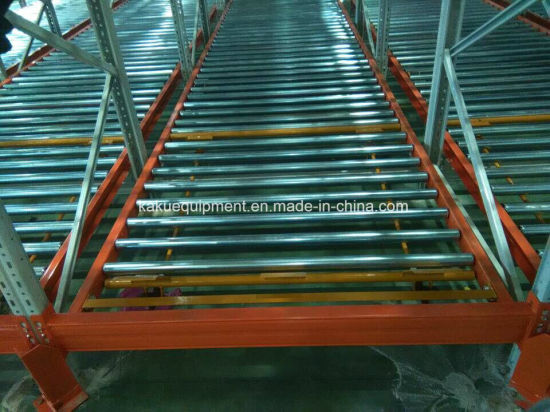 Warehouse Storage Heavy Duty Steel Roller Dynamic Gravity Racking pictures & photos