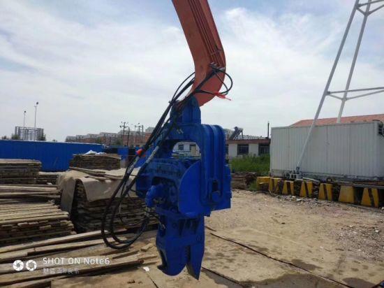China Mini Excavator Sheet Vibra Piling Hammer Equipment Pile
