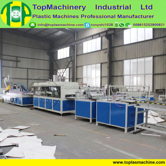 PS ABS Foam Board Machine Plastic Plate Production Plant pictures & photos