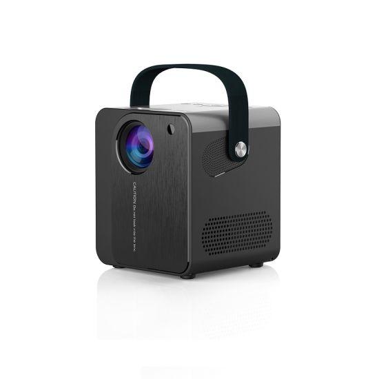 Black White Color Multi Media 800*480p HD Mini Projector Cp350