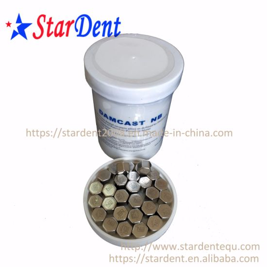 Dental Nickel Chrome with Beryllium Alloy Nb of Hospital Medical Lab Surgical Diagnostic Equipment pictures & photos