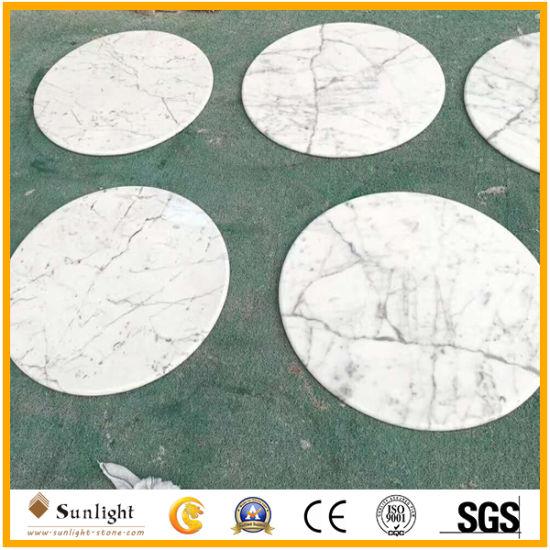 Customize Bianco Carrara White Marble Countertop, Vanity Tops, Table-Tops