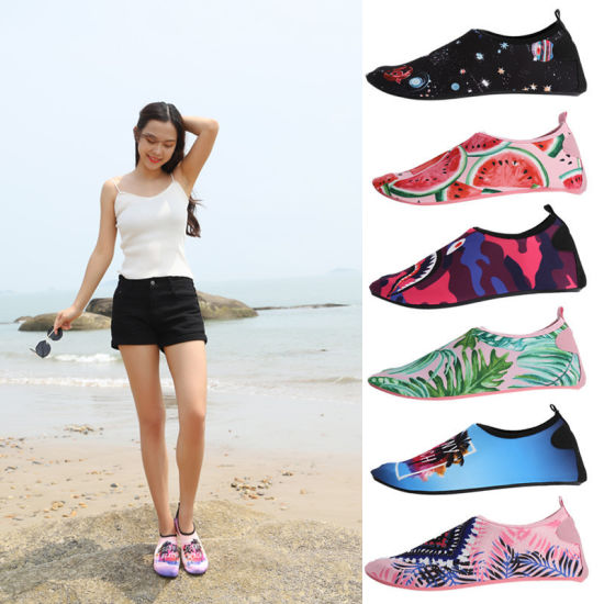 Quick-Dry Soft Shoes Men's and Women's Water Ski Shoes Beach Shoes Stick Skin Soft Socks Shoes Outdoor Shoes Swimming Shoes Beach Wading