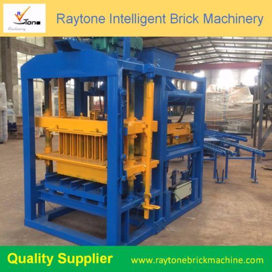 Hollow Block Machine Price Qtj4-25 Used Block Machine for Sale