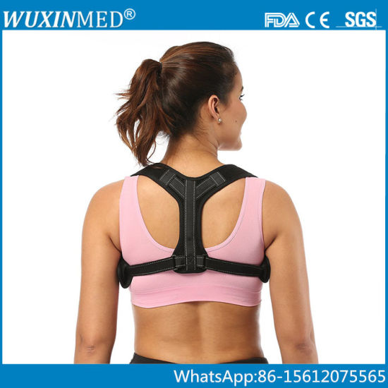 5c80a97819d Adjustable Back Posture Corrector Clavicle Support Brace for Women and Men.  Get Latest Price