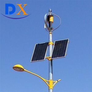 Hot Sale 8m Pole 60W Outdoor Lighting Hybrid Solar Wind LED Solar Street Light