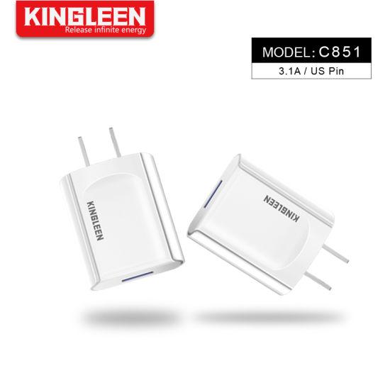 Model C851 Intelligent Single USB Port Charger USA Plug