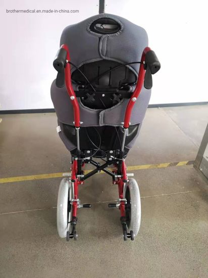 Controller Wheelchair Height Adjustable Seat Wheelchair for Handicap