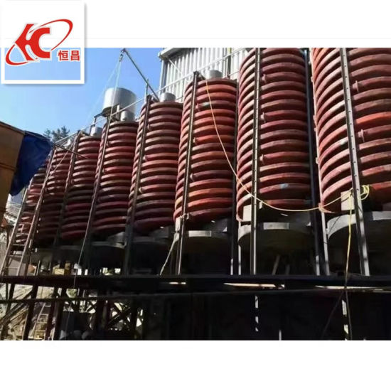 Gold Mining Spiral Gravity Chute Separator Equipment pictures & photos