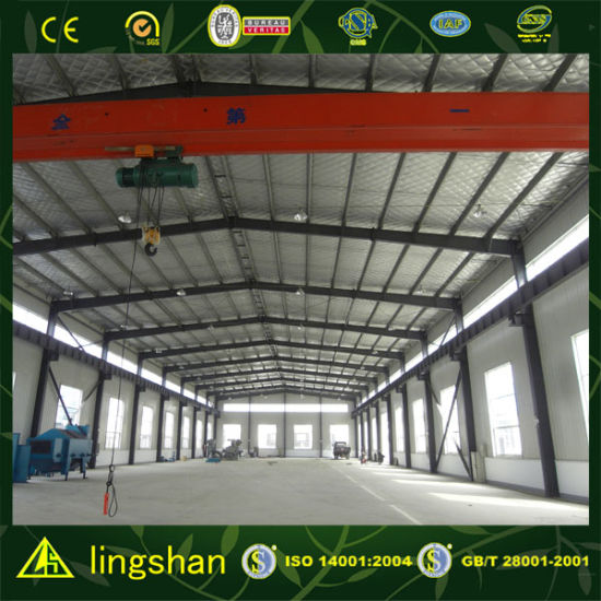 Prefabricated Galvanized Steel Frame Building pictures & photos