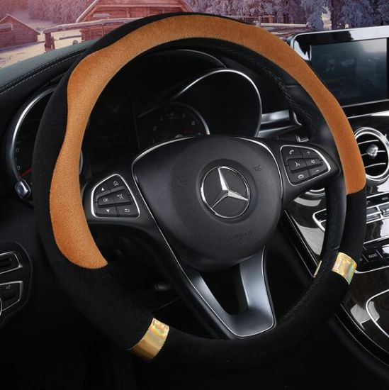Wholesale Universal Leather Car Steering Wheel Cover pictures & photos