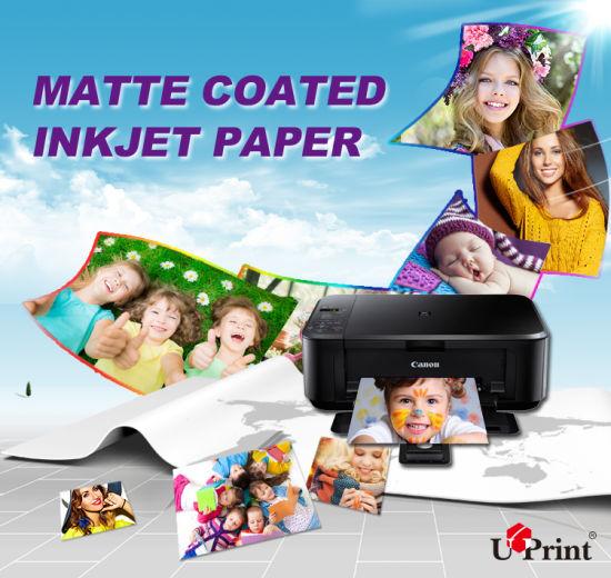 180GSM Matte Photo Paper/Inkjet Photo Printing Paper A4 Inkjet Paper