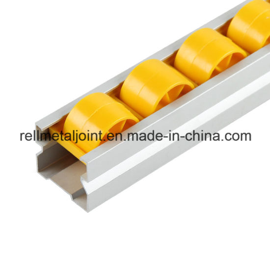 Aluminum Alloy Roller Track for Pipe Rack System (R-4040A)