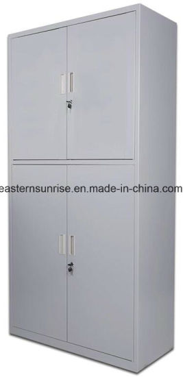 china good quality 4 door metal steel iron filing cupboard/cabinet 4 door metal filing cabinet