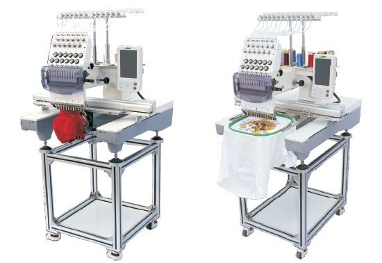 "High Speed One Head Computerized Tubular Embroidery Machine with 7"" Touch Screen for Cap Garment Tshirt Embroidery pictures & photos"
