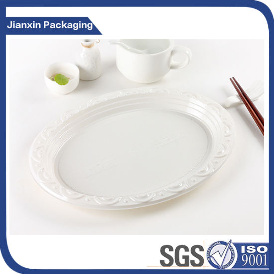 Disposable Biodegradable Plastic Plates Tray  sc 1 st  Guangzhou Jianxin Plastic Products Factory & China Disposable Biodegradable Plastic Plates Tray - China ...