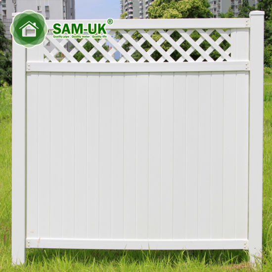 5x8 Privacy Vinyl Garden Fence Panels