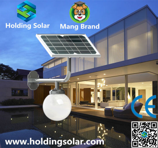 Integrated Energy Saving Solar Wall Lamp with Ce pictures & photos