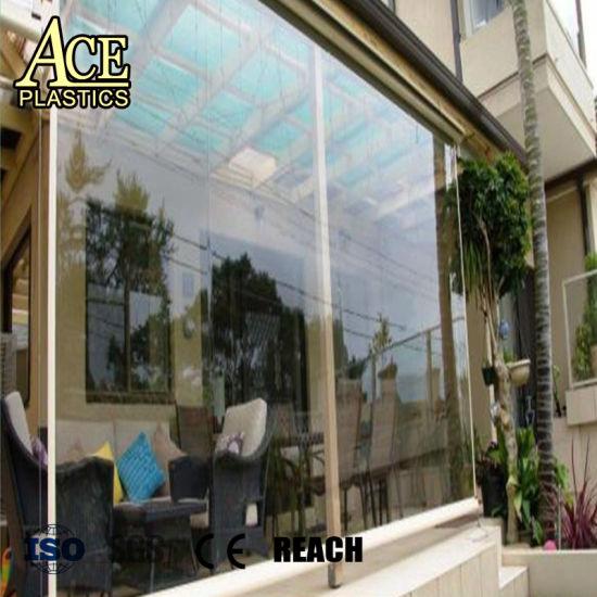China Pvc Printed Film For Tent Window Soft Glass China Pvc Film