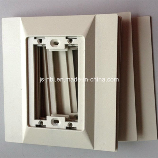 Customized Trim Plate for The Medical Gas Treatment Equipment
