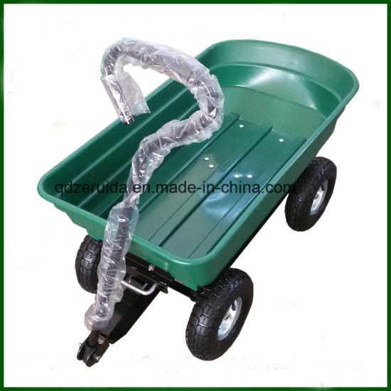 Folding Wagon/Wheel Barrow/Dump Cart/Garden Tool Cart (TC4253)