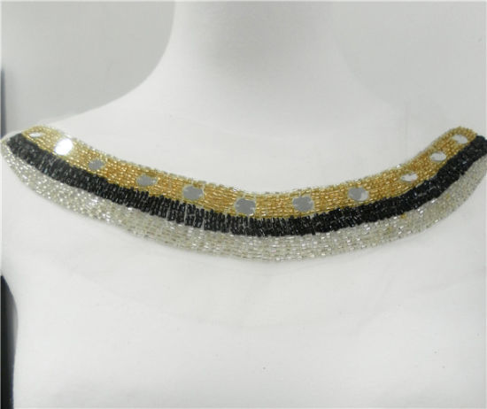 Beading Personalized Collar Necklace (HMC079)