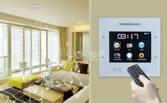 Multiroom Music Whole House Audio In Wall System Smart Home Music System Yz 60r China Smart Home Music System And Multiroom Audio System Price Made In China Com