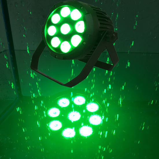 China High Quality Ip65 Battery Powered Led Par Light Outdoor Disco