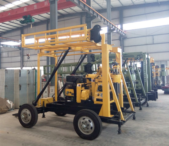 Xyx-2 Tractor Mounted Hydraulic Water Well Drilling Rig for Sale