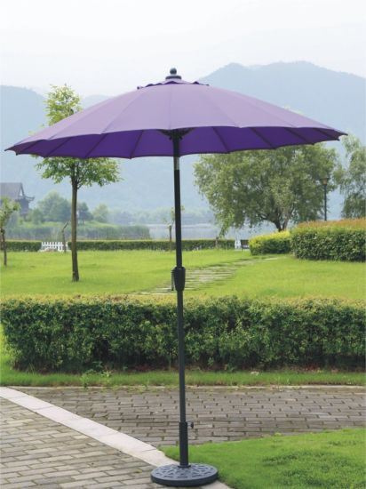 Fibreglass Outdoor Garden Umbrella Parasol with Tilt pictures & photos
