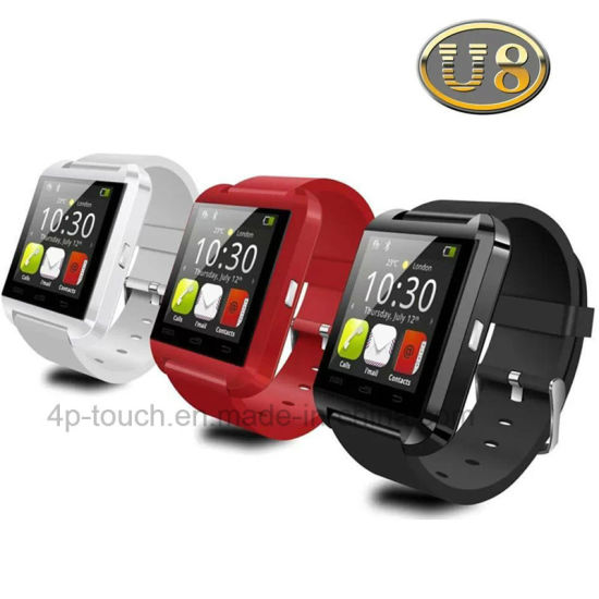 Smart Bluetooth Watch with Pedemeter/Altimeter/Barometer (U8) pictures & photos