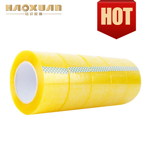 Manufacturer for BOPP Hot Products for Box Sealing Used Tape Jumbo Roll