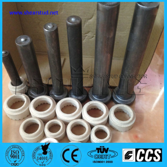 China Nelson Shear Stud 25mm With Ceramic Ferrule China Shear Stud Connector Nelson Stud