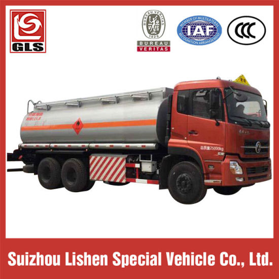 Tri-Axle LHD Oil Fuel Tank Truck pictures & photos