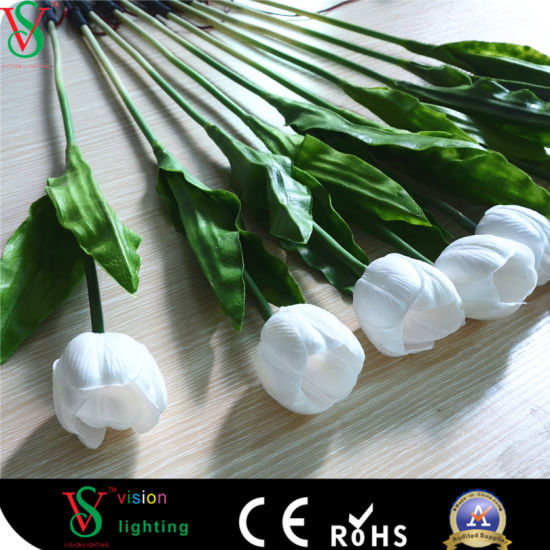 Wedding Decoration Wholesale colorful LED Artificial Flower Light pictures & photos