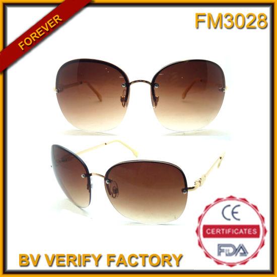 6103ba9492 FM3028 Cheap Popular Big Frame Rimless Cat 3 UV400 Sunglasses pictures    photos