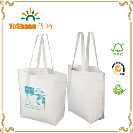 6c2d9c1a5 China Recycled 10oz Cotton Canvas Shopping Tote Bag - China Canvas ...