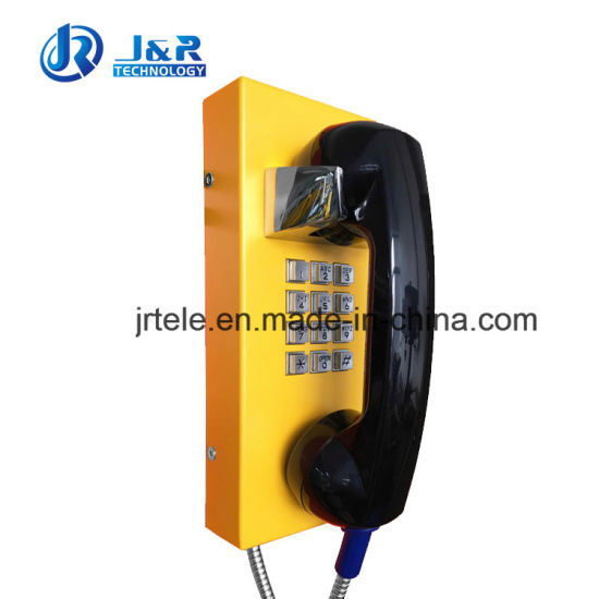 Analog Industrial Telephone, Rugged Emergency Telephone for Factory, Power Plant, Tunnel