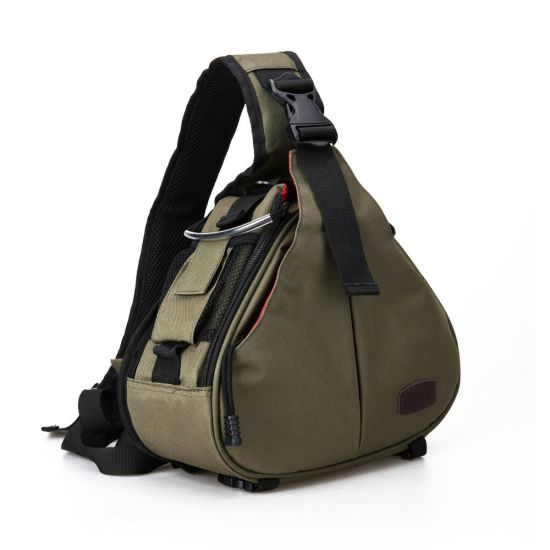 Compact Vintage Customized Sling Camera Bag for DSLR Sony Canon Nikon