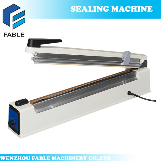 Table Top Manual Hand Hand Sealing Machine (PFS-100) pictures & photos