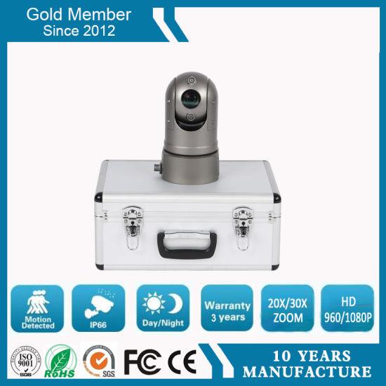 Low Cost WiFi 4G GPS HD Portable Network PTZ Surveillance Camera