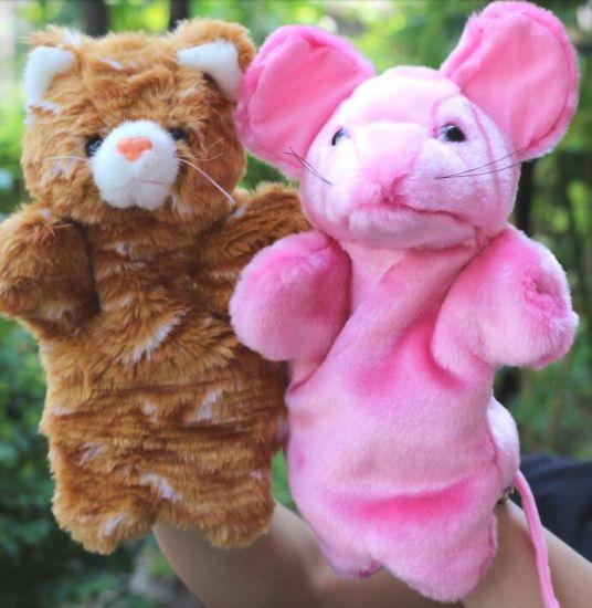 Educational Kids Toy Plush Finger Puppet Toys
