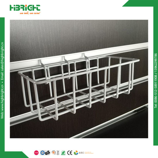 Retail Metal Gridwall Accessory Wire Basket pictures & photos