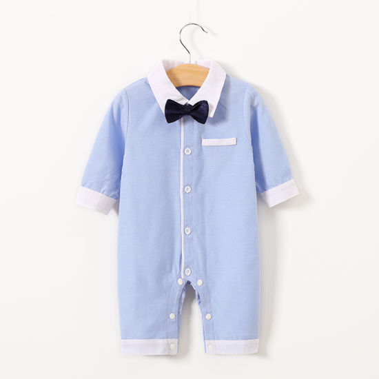 Baby Boy Romper Clothing Blue Color Children Clothes pictures & photos